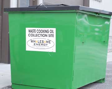 cooking oil collection service